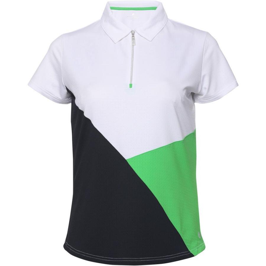 ベッティ&コート Bette & Court レディース ゴルフ トップス blithe short sleeve golf polo 白い