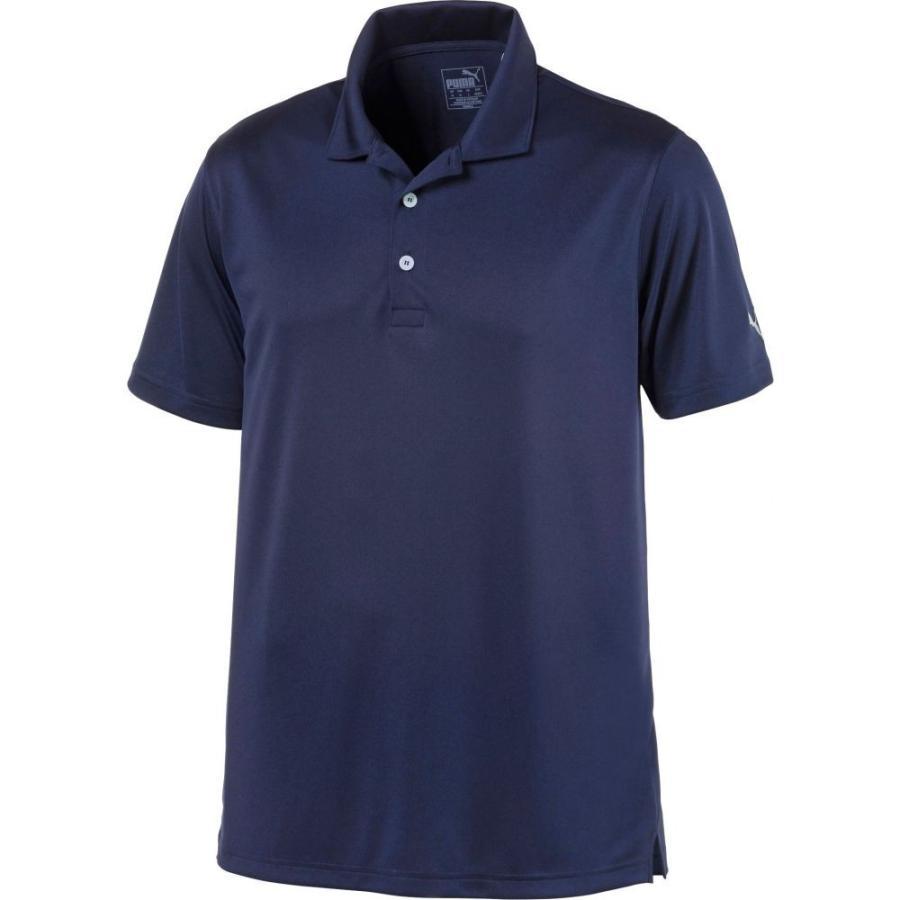 プーマ PUMA メンズ ゴルフ ポロシャツ トップス rotation golf polo Peacoat