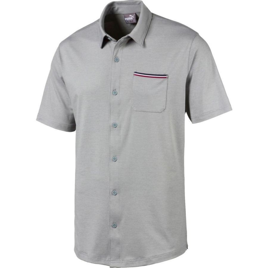 プーマ PUMA メンズ ゴルフ トップス tradewinds golf shirt Quarry Heather