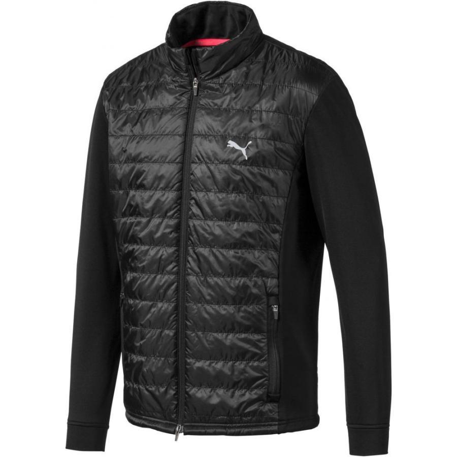 プーマ PUMA メンズ ゴルフ ジャケット アウター primaloft golf jacket Puma 黒