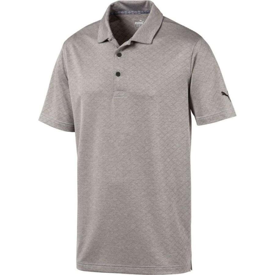プーマ PUMA メンズ ゴルフ ポロシャツ トップス field golf polo Puma 黒 Heather