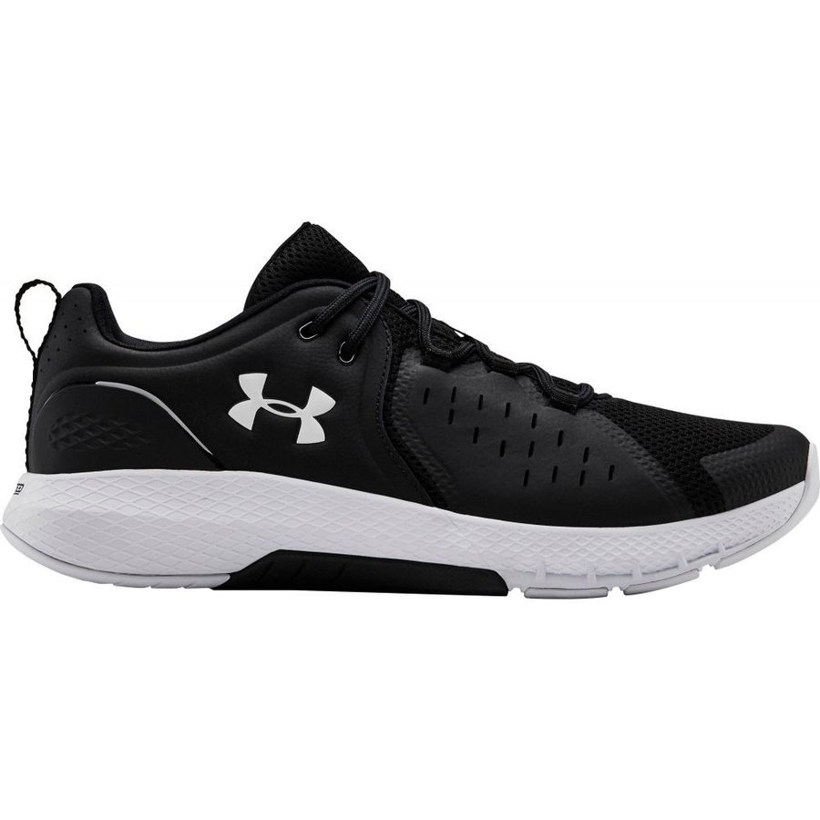 アンダーアーマー Under Armour メンズ フィットネス・トレーニング シューズ・靴 charged commit tr 2.0 training shoes 黒/白い