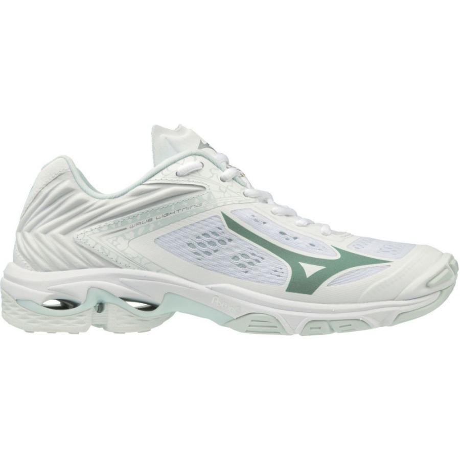 ミズノ Mizuno レディース シューズ・靴 バレーボール Wave Lightning Z5 Volleyball Shoes 白い