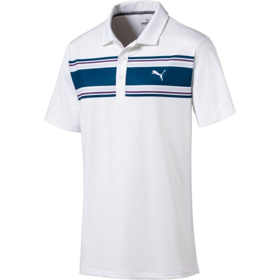 プーマ PUMA メンズ ゴルフ ポロシャツ トップス montauk golf polo Gibraltar Sea