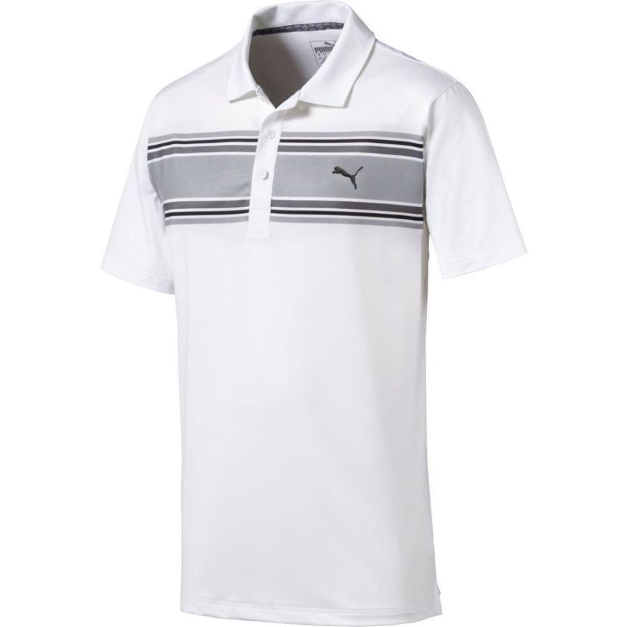 プーマ PUMA メンズ ゴルフ ポロシャツ トップス montauk golf polo Quiet Shade