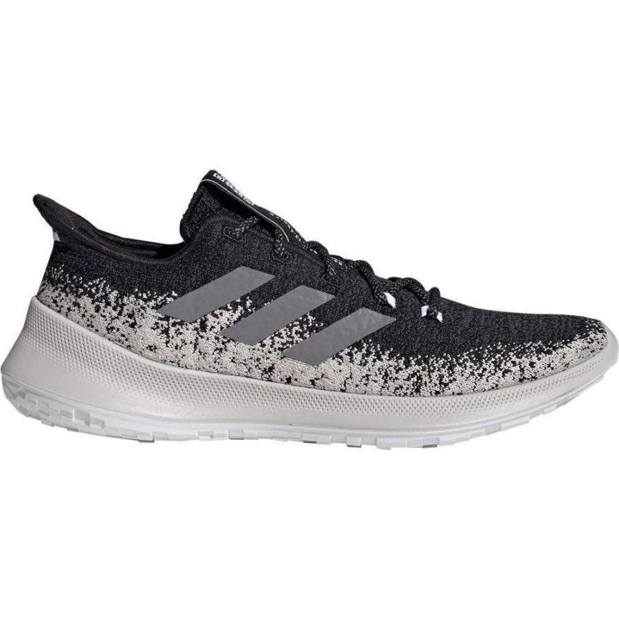 アディダス adidas メンズ シューズ・靴 ランニング・ウォーキング SenseBounce+ Running Shoes 黒/グレー