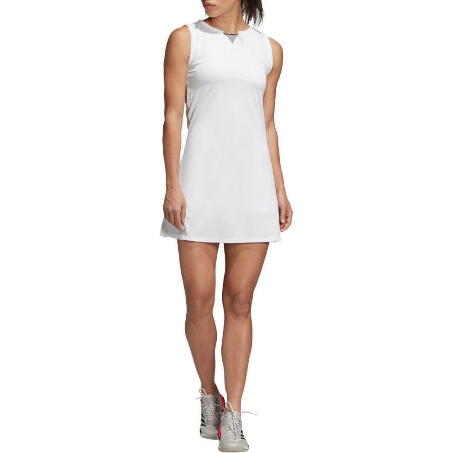 アディダス adidas レディース テニス ワンピース トップス club tennis dress 白い