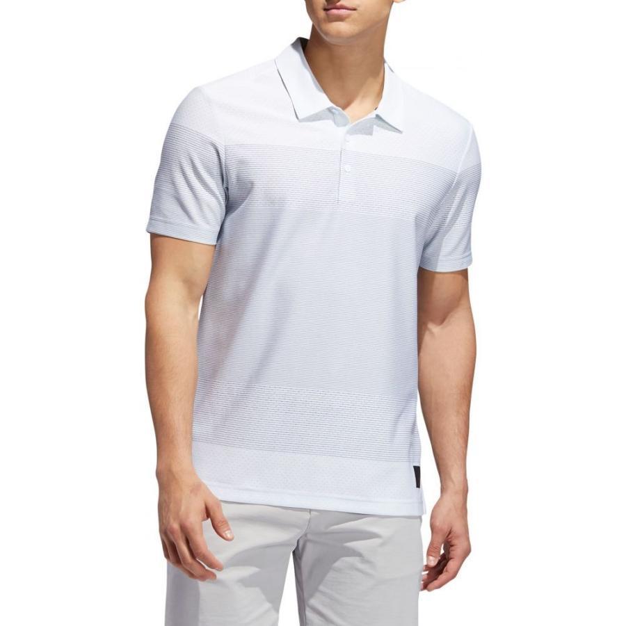 アディダス adidas メンズ トップス ゴルフ Adicross Engineered Golf Polo White