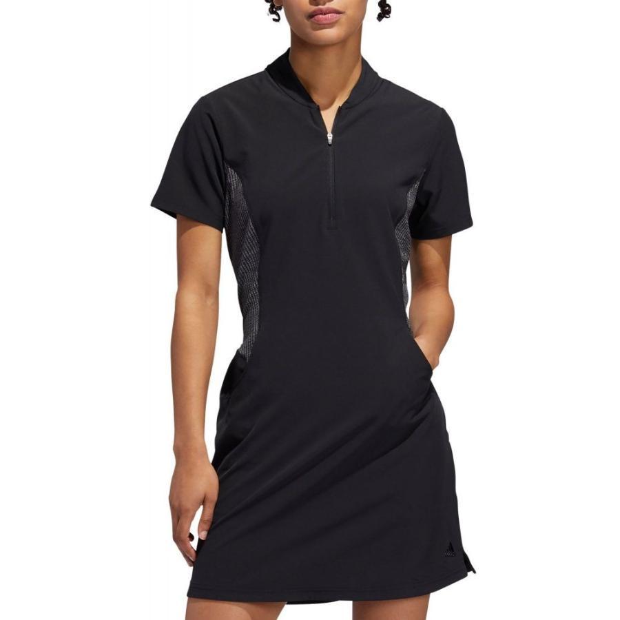 アディダス adidas レディース トップス ゴルフ Range Golf Dress 黒