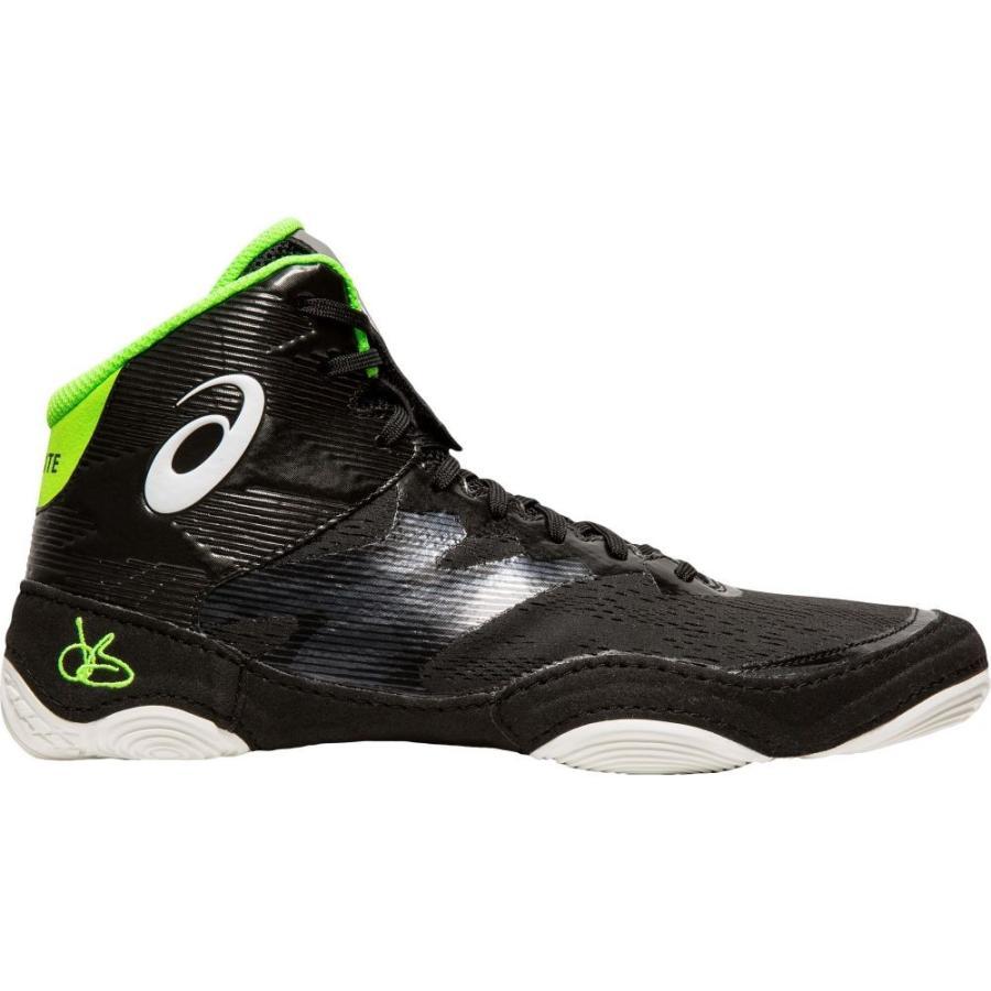 アシックス ASICS メンズ シューズ・靴 レスリング JB Elite IV Wrestling Shoes 黒/白い