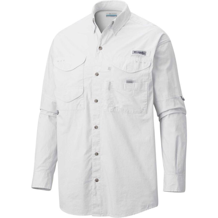 コロンビア Columbia メンズ 釣り・フィッシング トップス pfg super bonehead classic long sleeve fishing shirt White