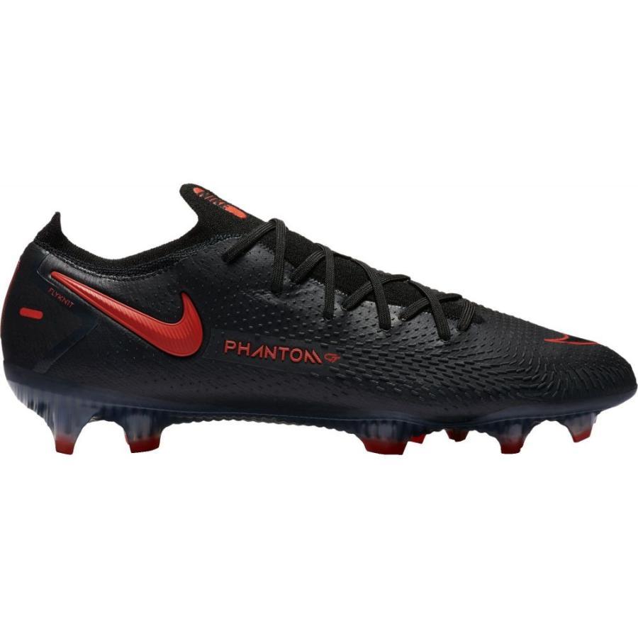 ナイキ Nike メンズ サッカー スパイク シューズ·靴 Phantom GT Elite FG Soccer Cleats Black/Red