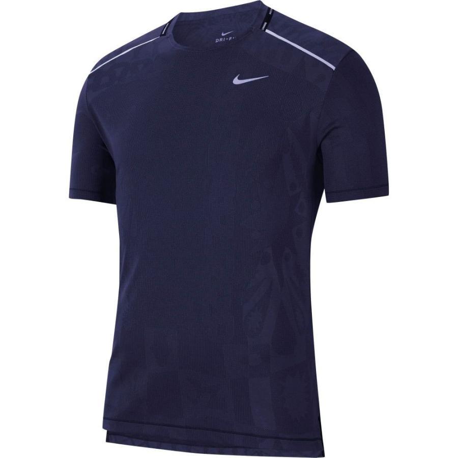 【期間限定特価】 ナイキ Nike メンズ ランニング・ウォーキング トップス TechKnit Wild Short Sleeve Running T-Shirt Imperial Purple, ときめきライフ コスメ館 2号店 fed21bce