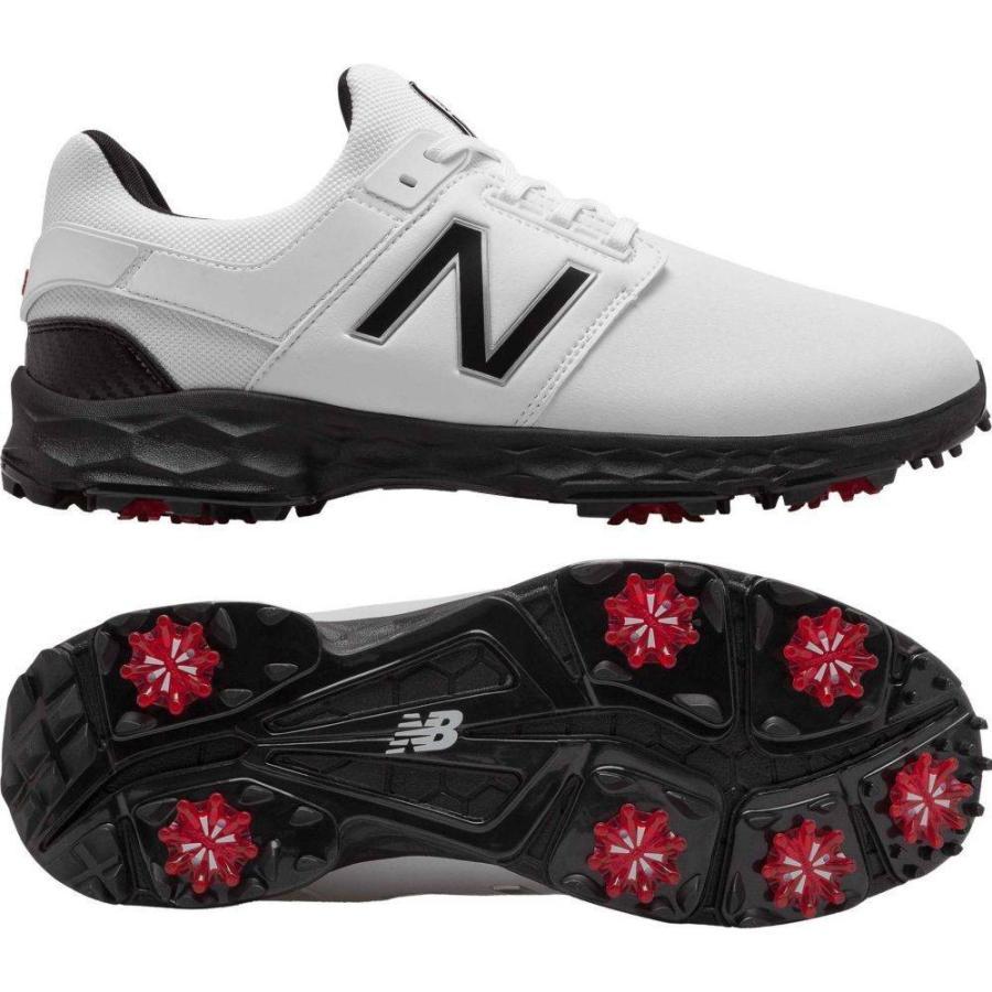 交換無料! ニューバランス Foam New Balance メンズ メンズ ゴルフ シューズ ニューバランス・靴 Fresh Foam LinksPro Golf Shoes White/Black, 浮きあられ専門店 日天製菓:c1f1a780 --- airmodconsu.dominiotemporario.com