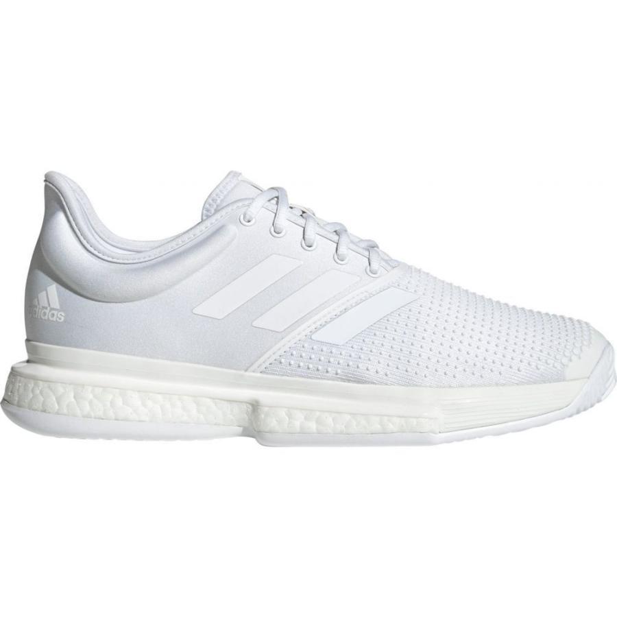 祝開店!大放出セール開催中 アディダス adidas メンズ テニス シューズ・靴 SoleCourt Boost X Parley Tennis Shoes White/White, トランパラン db977d67