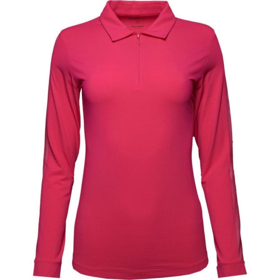 最安値級価格 IBKUL レディース Long ゴルフ ポロシャツ トップス Sleeve Long Sleeve Golf Polo Polo Watermelon, ファミリーシューズ スワッティー:c1b905fc --- airmodconsu.dominiotemporario.com