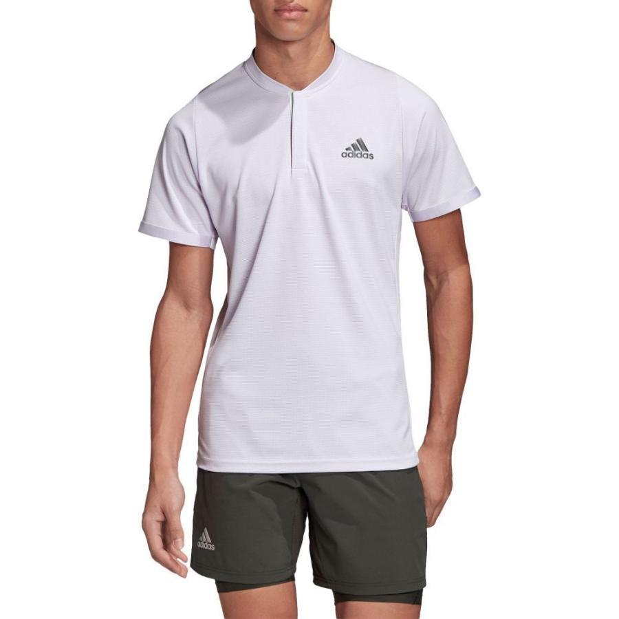 【希少!!】 アディダス adidas メンズ テニス ポロシャツ トップス テニス FreeLift ポロシャツ Tennis トップス Polo Purple Tint, ナチュラム:04ffcb18 --- airmodconsu.dominiotemporario.com
