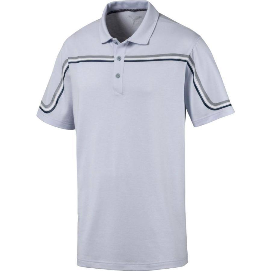 人気商品 プーマ PUMA メンズ ゴルフ ポロシャツ トップス Looping Golf Polo Heather, sorairo 3ee8774b