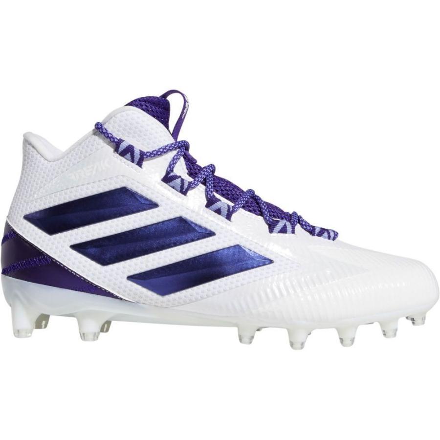 全国総量無料で アディダス スパイク adidas メンズ アメリカンフットボール スパイク シューズ・靴 Freak Mid adidas Carbon Mid Football Cleats White/Purple, いまばりタオルブティック:352bd88d --- airmodconsu.dominiotemporario.com