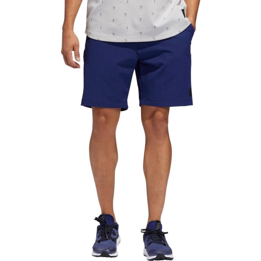 ふるさと納税 アディダス adidas メンズ ゴルフ ショートパンツ ボトムス・パンツ Adicross Hybrid Golf Shorts Dark Blue, 東京ゴルフ eb29662b