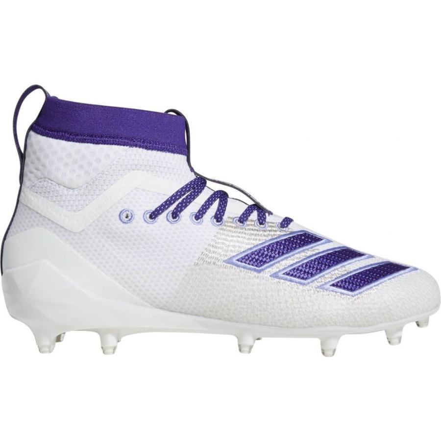 【楽天ランキング1位】 アディダス adidas メンズ アメリカンフットボール スパイク Football メンズ シューズ・靴 adizero White/Purple 8.0 Burner SK Football Cleats White/Purple, 荒川村:15382e9e --- airmodconsu.dominiotemporario.com