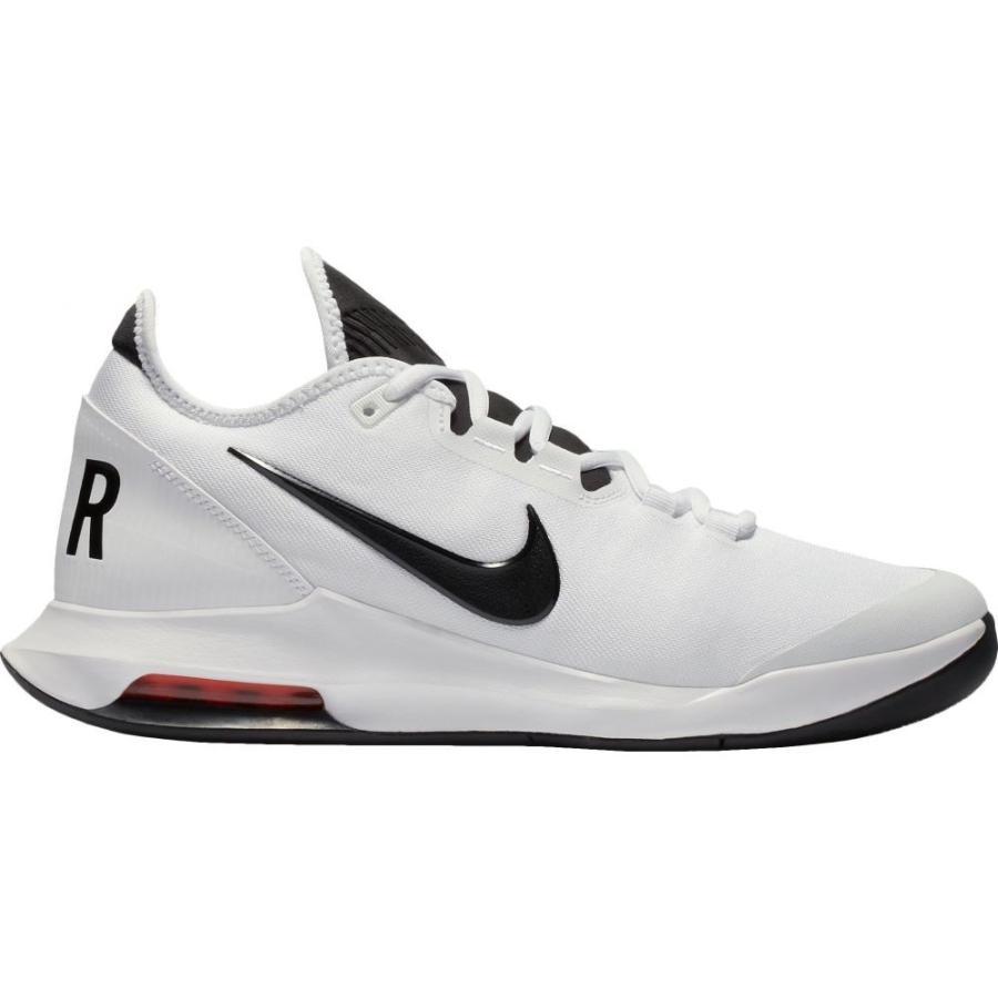 【税込?送料無料】 ナイキ Nike メンズ テニス エアマックス シューズ・靴 Air Max Wildcard Tennis Shoes White/Black/Red, コスメティックロイヤル 2720ab48