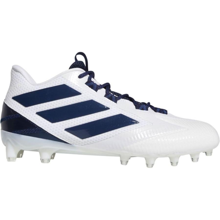 品質は非常に良い アディダス adidas スパイク メンズ adidas アメリカンフットボール スパイク シューズ・靴 Carbon Freak Carbon Football Cleats White/Navy, スタイルマーケット:3722a1fe --- airmodconsu.dominiotemporario.com