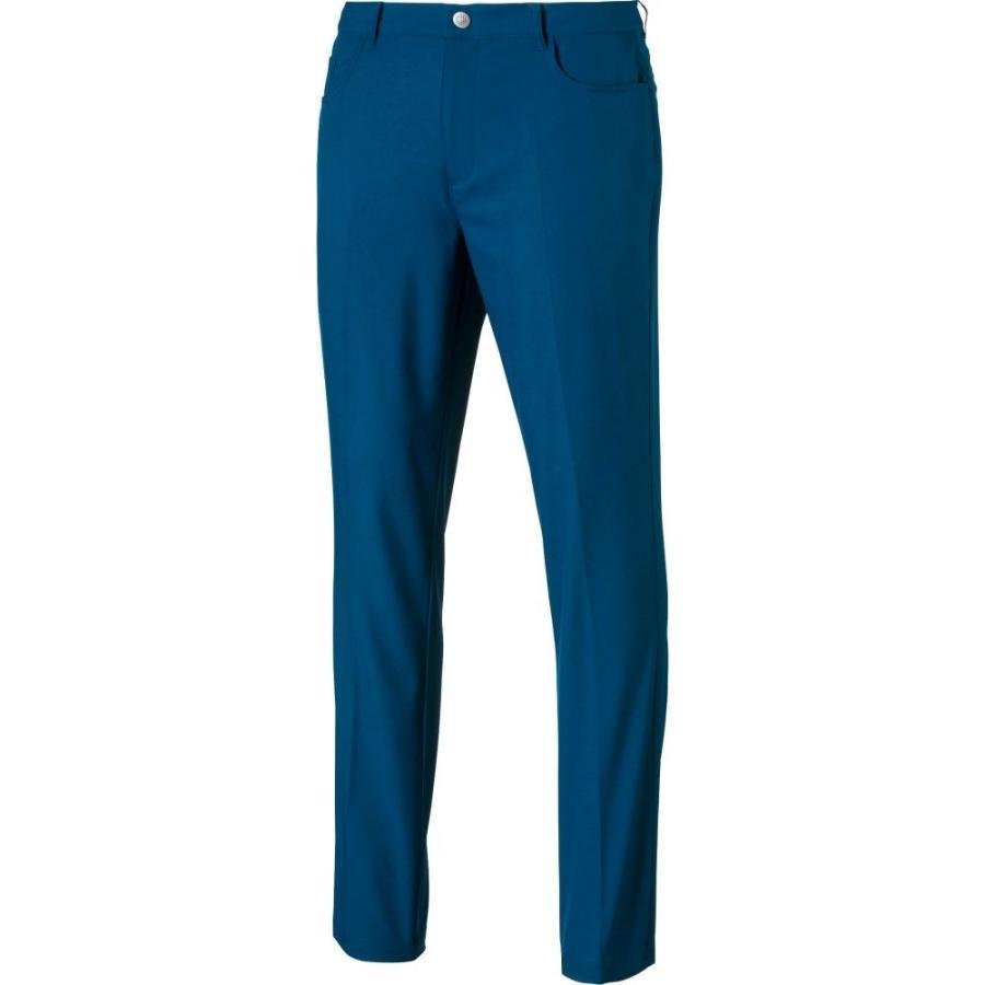 憧れの プーマ PUMA メンズ ゴルフ ボトムス・パンツ Jackpot 5 Pocket Golf Pants Gibraltar Sea, 漫画全巻ドットコム d58db033