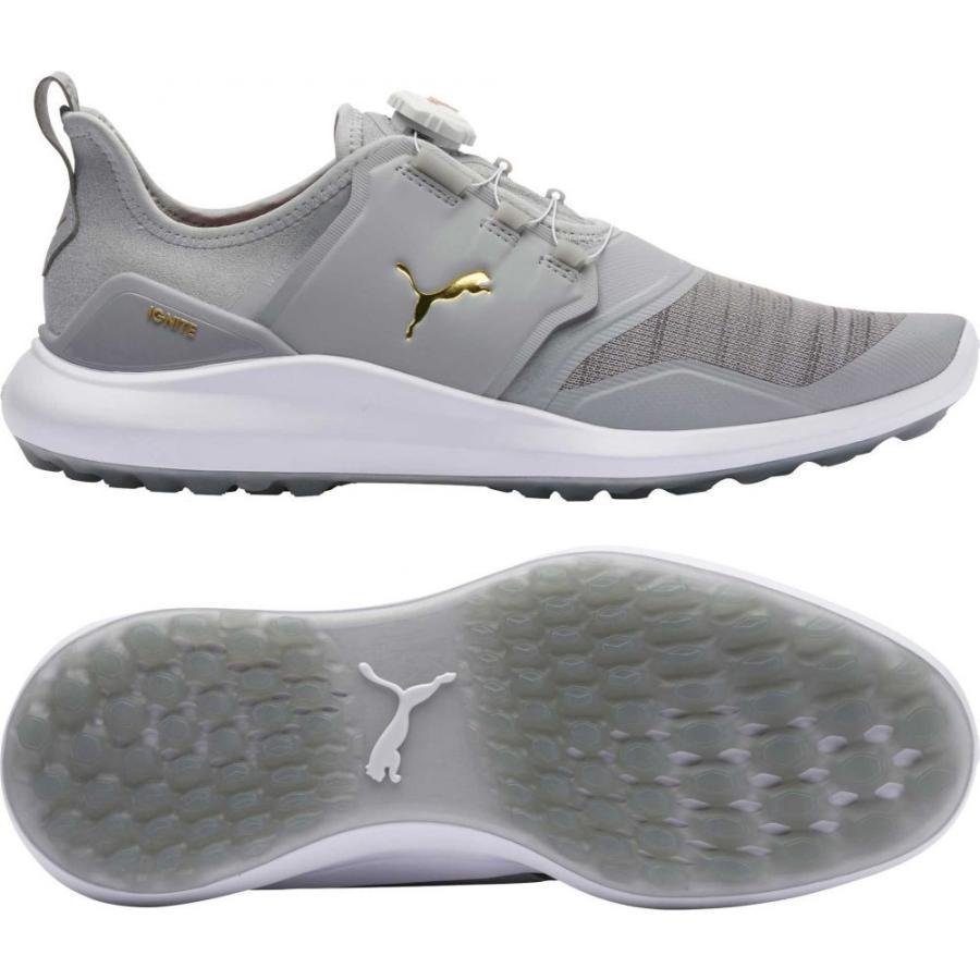 登場! プーマ PUMA メンズ ゴルフ シューズ・靴 IGNITE NXT DISC Golf Shoes Light Grey/White, 丸万質舗 54bde518