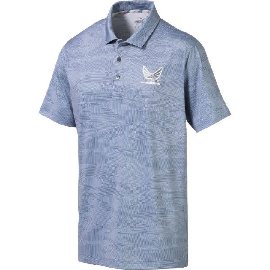 新しいブランド プーマ PUMA メンズ ゴルフ ポロシャツ トップス Volition Signature Golf Polo Vintage Indigo, 玉家のキムチ工房 d19c58da