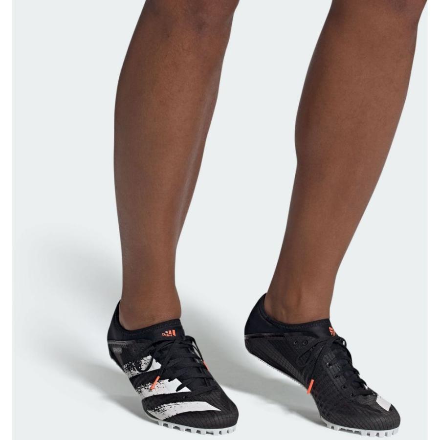 アディダス adidas メンズ 陸上 スパイク シューズ・靴 Sprintstar Track and Field Cleats Black/White fermart2-store 03