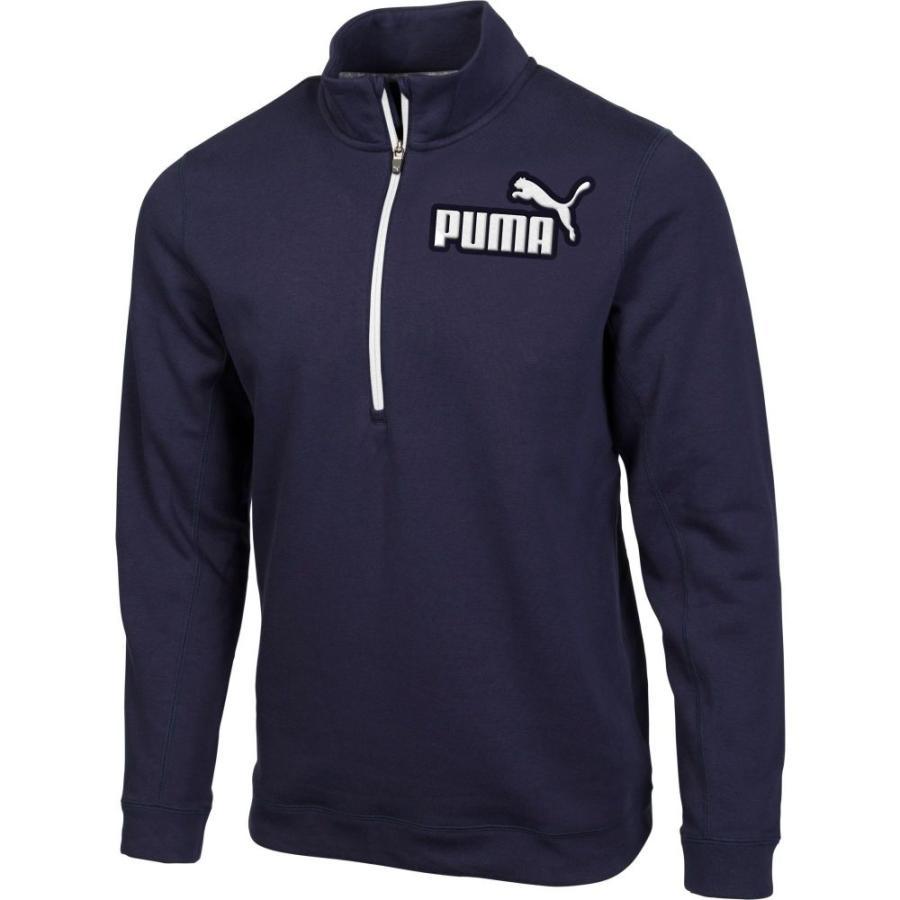 ブランド品専門の プーマ メンズ PUMA Logo メンズ ゴルフ Jacket ジャケット アウター Logo 1/4 Zip Golf Jacket Peacoat, 新横浜ラーメン博物館『MOTTO』:e26dfcec --- airmodconsu.dominiotemporario.com