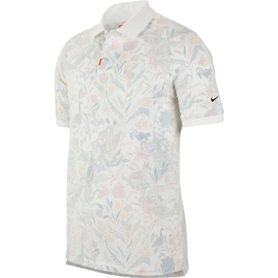 【限定特価】 ナイキ Nike ナイキ メンズ ゴルフ ポロシャツ トップス Print Print Golf Nike Polo White/Brilliant Orange, やすらぎと癒しのショップ:557f1e8d --- airmodconsu.dominiotemporario.com
