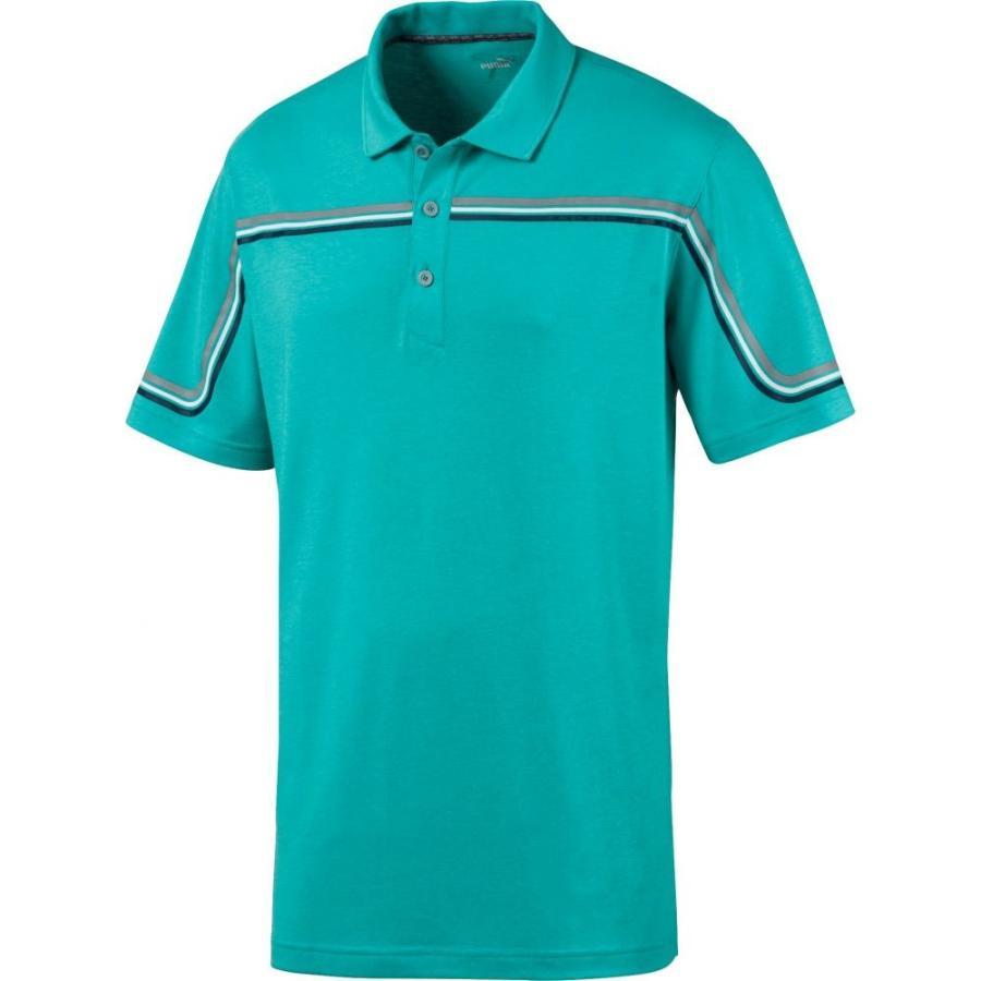 上品なスタイル プーマ PUMA メンズ プーマ ゴルフ ポロシャツ トップス Looping Polo Golf Looping Polo Blue Turquoise Heather, うなぎのぼり:5b0583bd --- airmodconsu.dominiotemporario.com