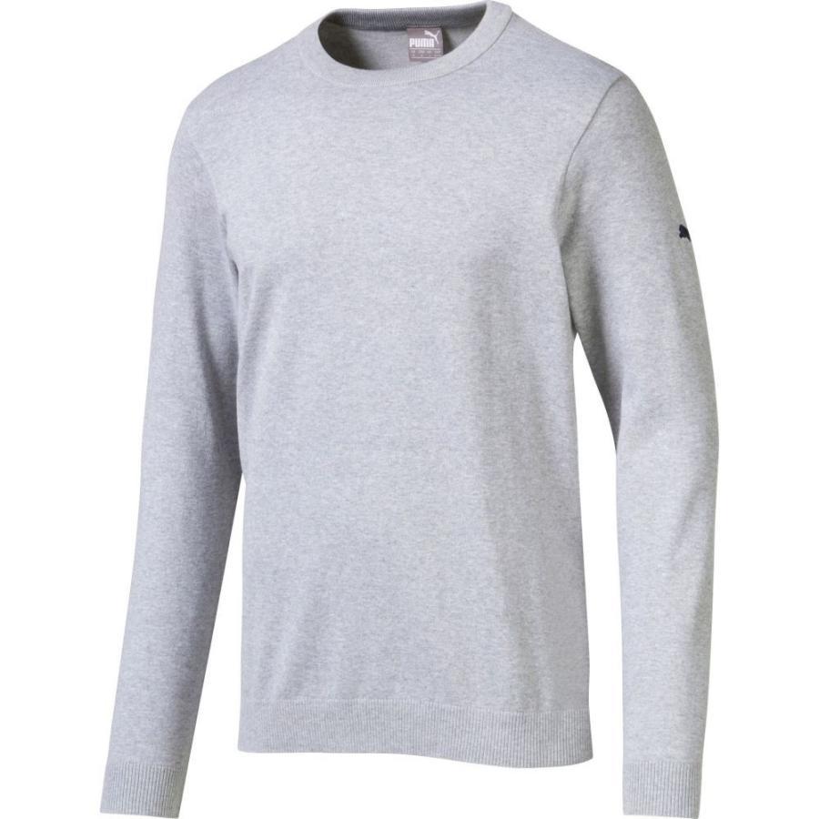 【有名人芸能人】 プーマ PUMA トップス メンズ ゴルフ ニット・セーター トップス プーマ ゴルフ Crew Neck Golf Sweater Quarry Heather, 底値楽器屋:3f9b07a5 --- airmodconsu.dominiotemporario.com