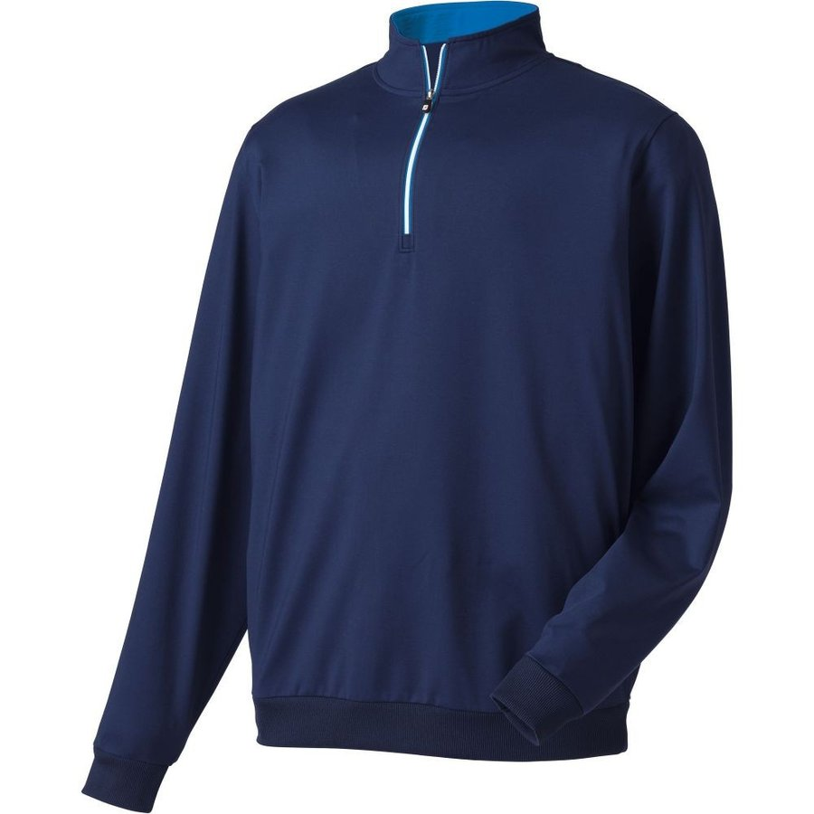 【ついに再販開始!】 フットジョイ FootJoy メンズ ゴルフ トップス Half-Zip Golf Pullover Navy, アジアンマーケットプレイス b5f8b9b2