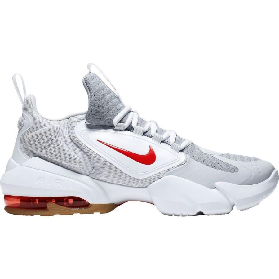 好評 ナイキ Nike メンズ Nike フィットネス・トレーニング Air シューズ・靴 Air Grey/Red Max Alpha Savage Training Shoes Grey/Red, 津久井町:5c43a9a6 --- airmodconsu.dominiotemporario.com