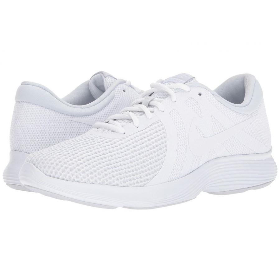 ナイキ Nike メンズ ランニング・ウォーキング シューズ・靴 revolution 4 白い/白い/Pure Platinum