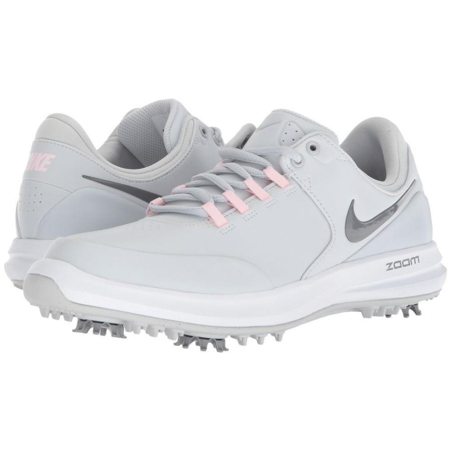 ナイキ Nike Golf レディース シューズ・靴 ゴルフ Air Zoom Accurate Pure Platinum/Cool グレー/Arctic ピンク/白い