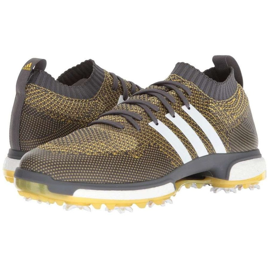 アディダス adidas Golf メンズ シューズ・靴 ゴルフ Tour360 Knit グレー Five/Footwear 白い/EQT 黄