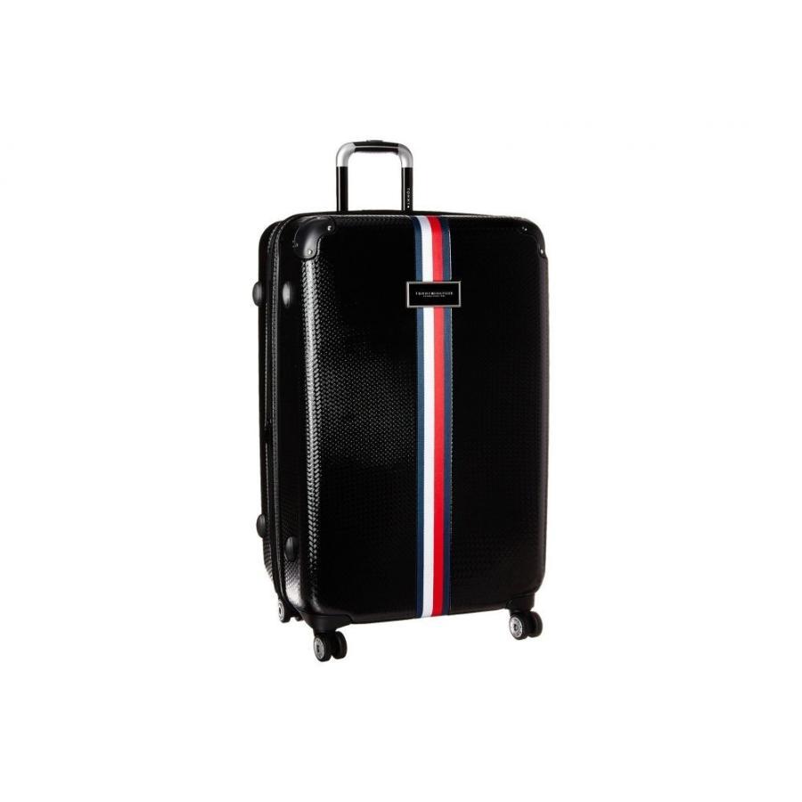 トミー ヒルフィガー Tommy Hilfiger ユニセックス スーツケース・キャリーバッグ バッグ Basketweave 28 Upright Suitcase Black