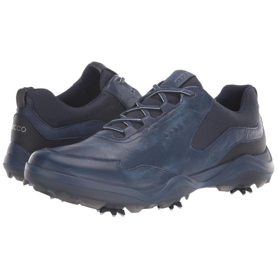暮らし健康ネット館 エコー ECCO Golf メンズ ゴルフ シューズ・靴 Strike GORE-TEX True Navy, トイチョウ 9123299e