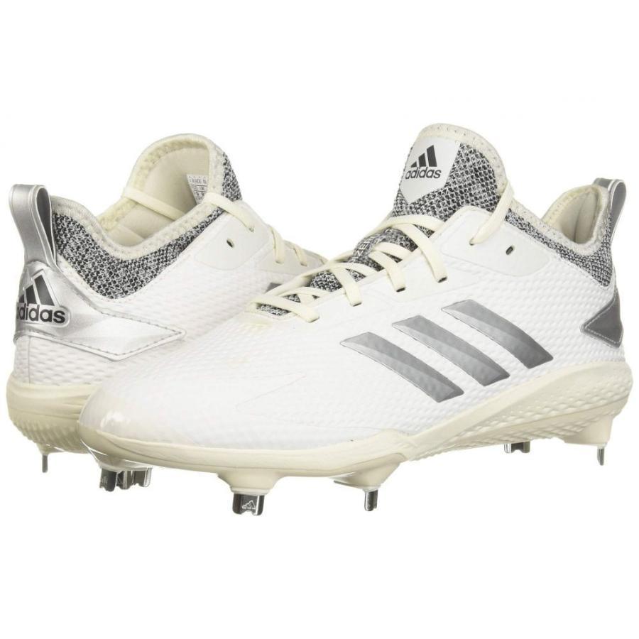 アディダス adidas メンズ シューズ・靴 野球 Adizero Afterburner V Cloud 白い/グレー One/グレー Five