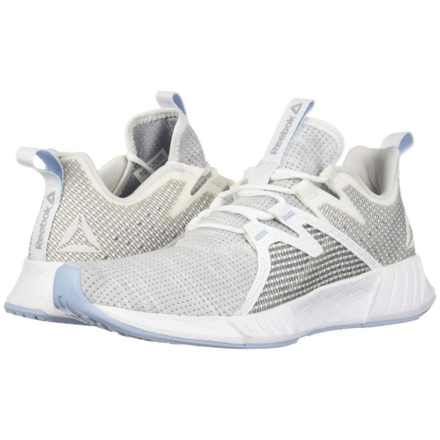 リーボック Reebok レディース ランニング・ウォーキング シューズ・靴 Fusium Run 2.0 白い/Cold グレー/Denim Glow