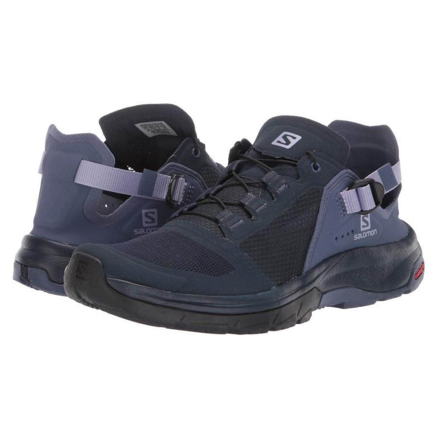 サロモン Salomon レディース ハイキング・登山 シューズ・靴 Techamphibian 4 Navy Blazer/Crown Blue/Languid Lavender