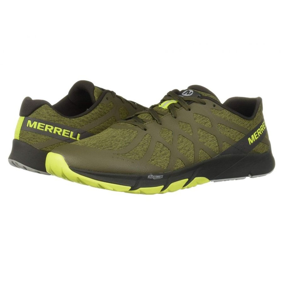 メレル Merrell メンズ ランニング・ウォーキング シューズ・靴 Bare Access Flex 2 Dusty Olive