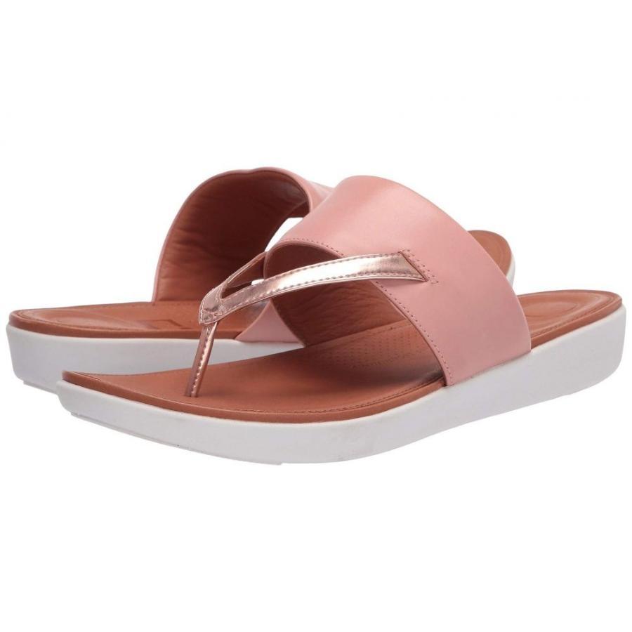 【通販激安】 フィットフロップ FitFlop レディース ビーチサンダル シューズ・靴 Delta Toe-Thong Sandals - Leather/Mirror Dusky Pink/Rose Gold Mirror, レスリングマーチャンダイズ 81b63fe8
