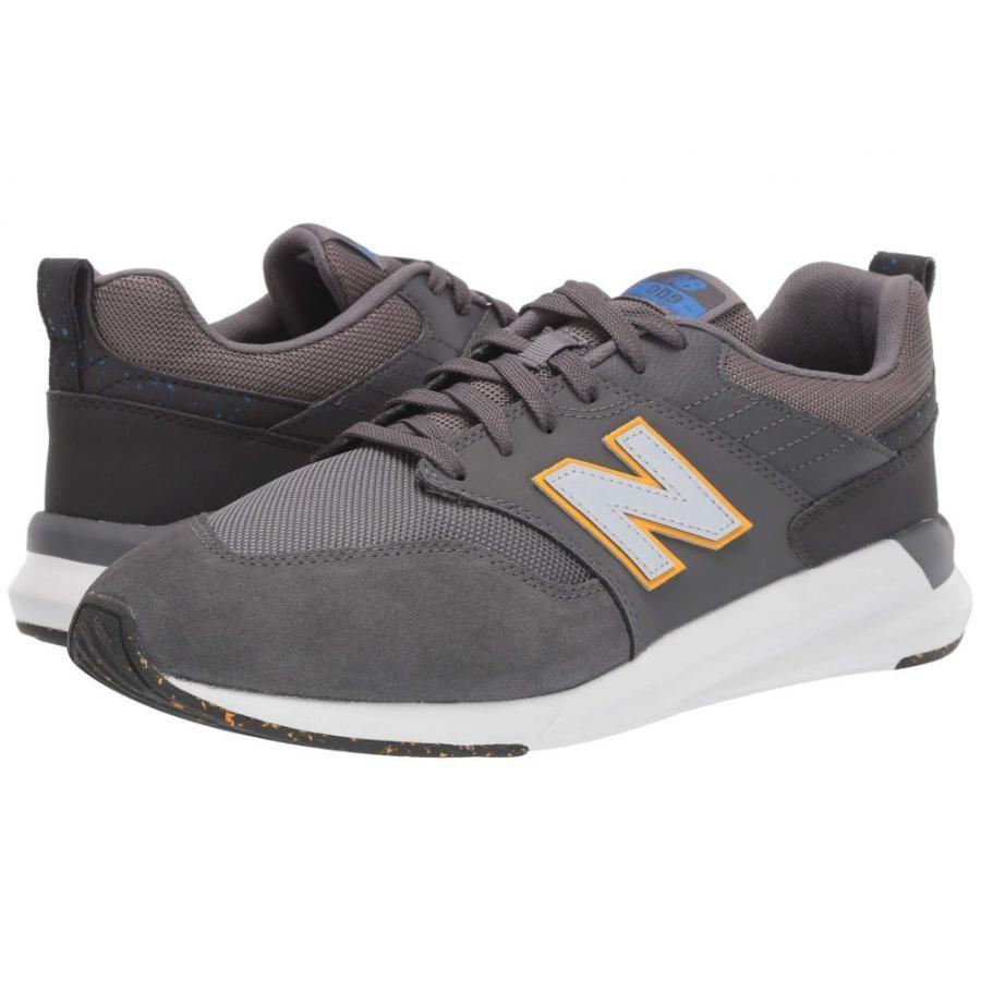 ニューバランス New Balance メンズ ランニング・ウォーキング シューズ・靴 009 modern classic Magnet/Vivid Cobalt/ゴールド Rush Synthetic Suede/Mesh