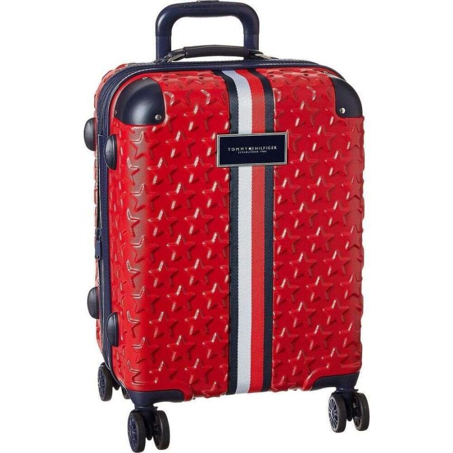 トミー ヒルフィガー Tommy Hilfiger ユニセックス スーツケース・キャリーバッグ バッグ 21 Starlight Hardside Upright Red