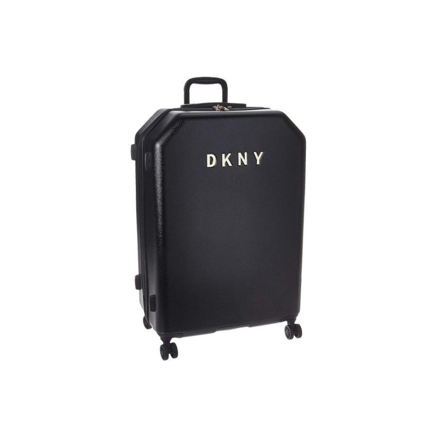 ダナ キャラン ニューヨーク DKNY レディース スーツケース・キャリーバッグ ハードサイド バッグ 28 Metal Logo Hardside Upright 黒